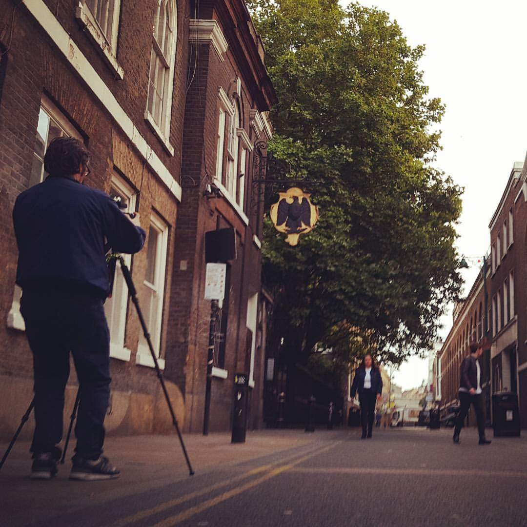 Brian Cannon Cover Shoot Brick Lane