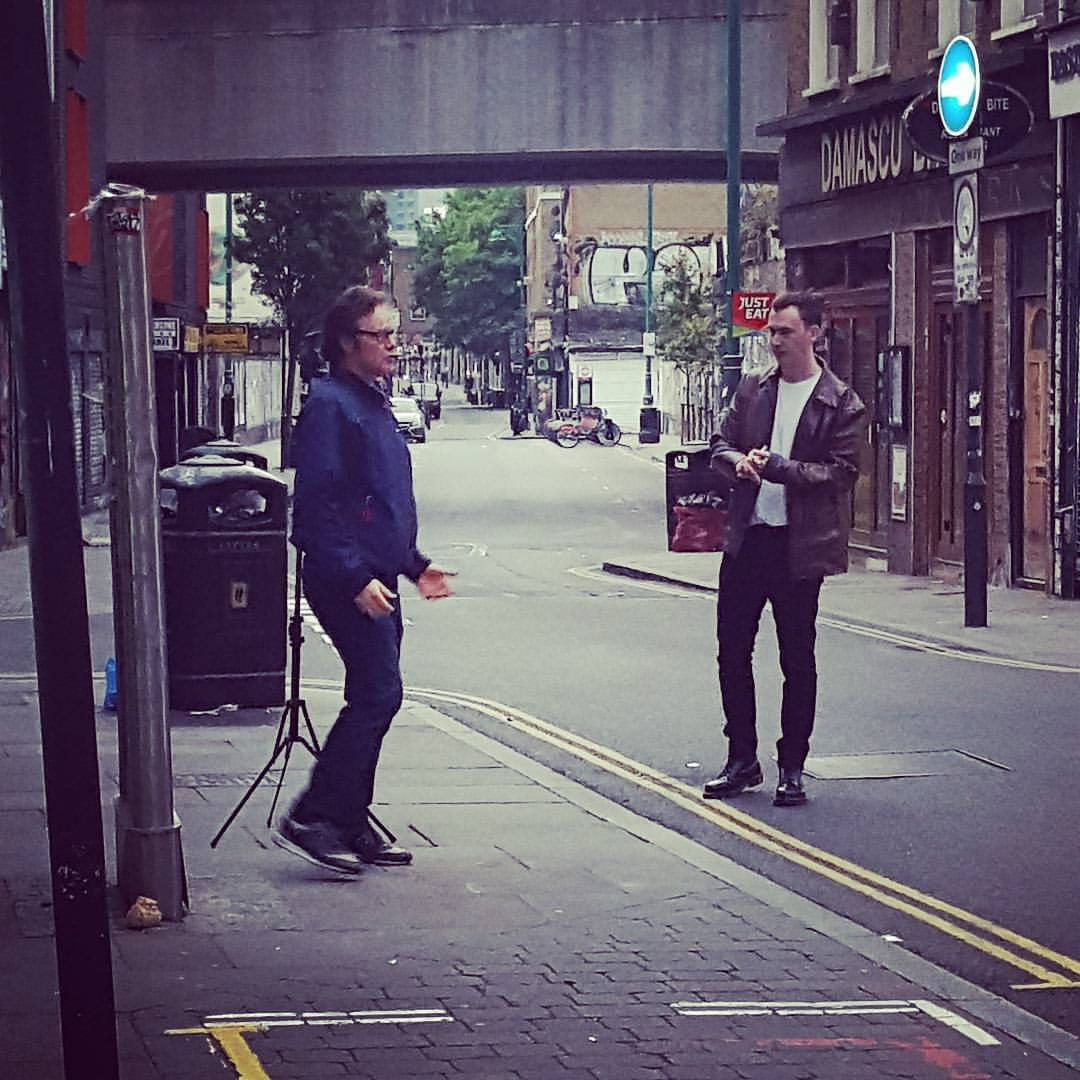 Brian Cannon & John O'Shea Cover Shoot Brick Lane