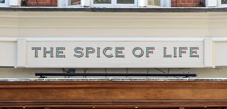The Spice Of Life